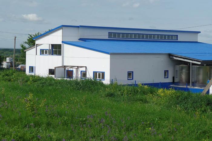 В Воронежской области начал работу новый молочный завод «Академии Молочных Наук»