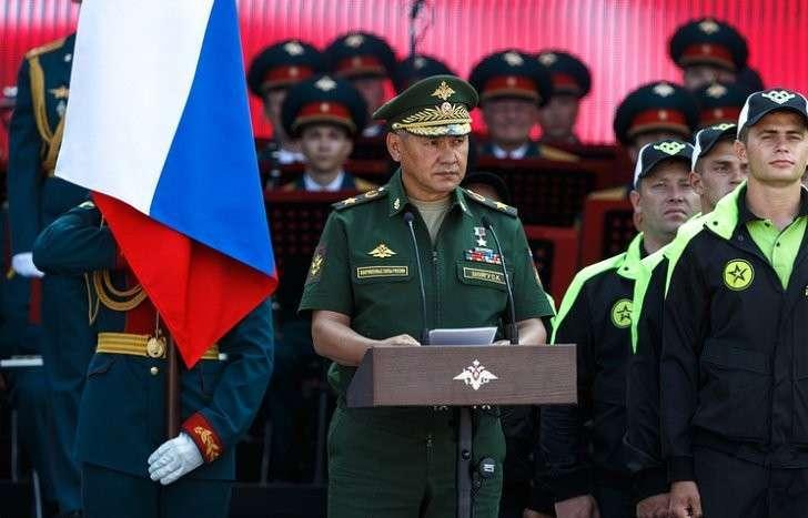 Сергей Шойгу: военное мастерство надо показывать на соревнованиях, а не на войне