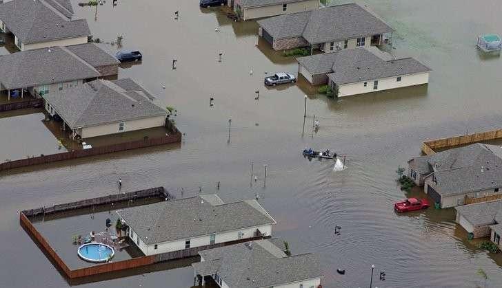 Правительство США открыло Луизиане экстренное финансирование на ликвидацию последствий наводнения