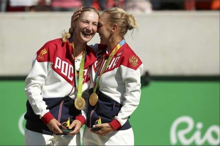 2. Теннисистки Макарова и Веснина — олимпийские чемпионки в парном разряде  Сделано у нас, политика, факты