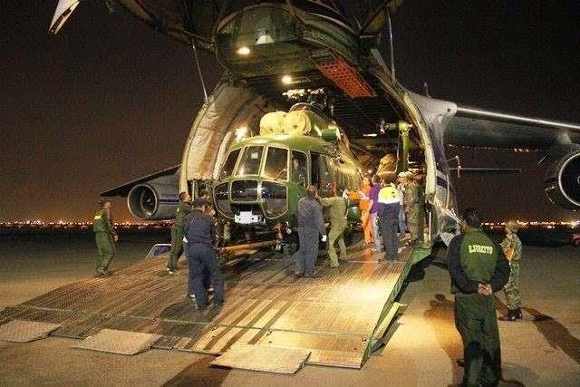 28. Очередная партия из двух вертолетов Ми-171Ш поступила в Алжир  Сделано у нас, политика, факты