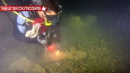 Два военных корабля найдены на дне Севастопольской бухты