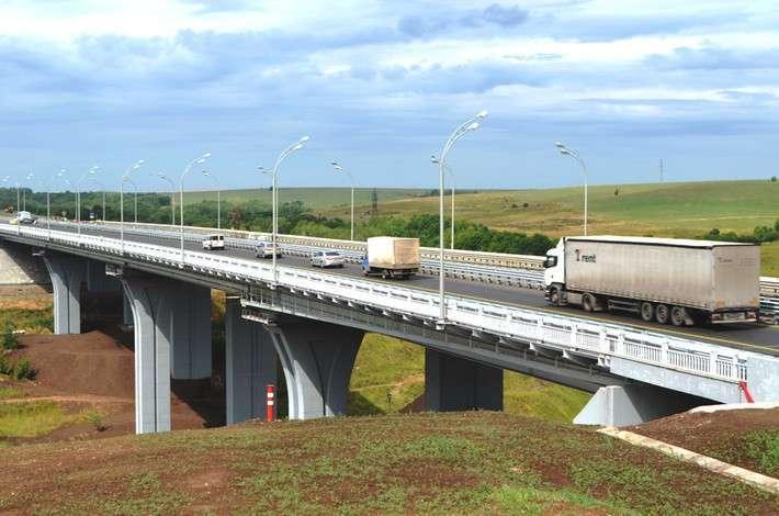 В Татарстане открыто движение транспорта по мосту через Каму у села Сорочьи Горы