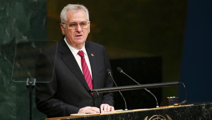 Сербия никогда не станет вводить санкции против России, заявил президент Томислав Николич