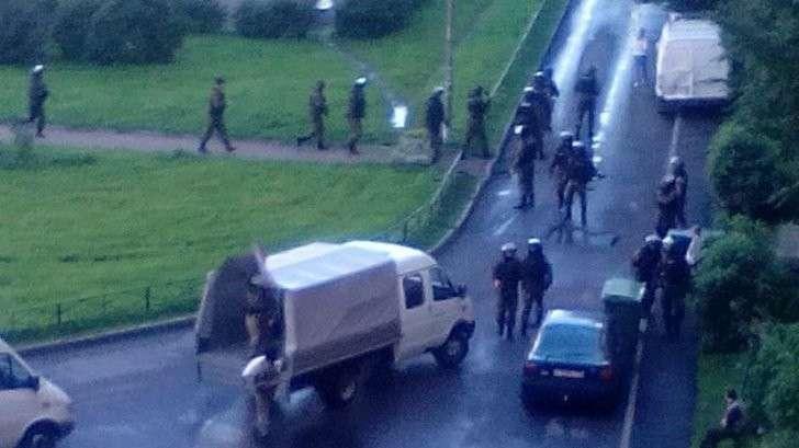 Спецоперация по задержанию боевиков в Санкт-Петербурге. Хроника событий