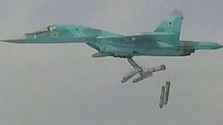 Бомбардировщики Су-34, бомбившие ИГИЛ из Ирана, несли максимальную боевую нагрузку