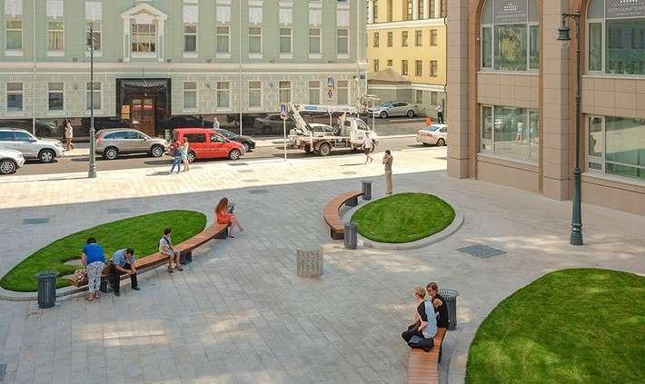 В Москве более 20 обновлённых улиц открыли для пешеходов и автомобилистов по программе «Моя улица»