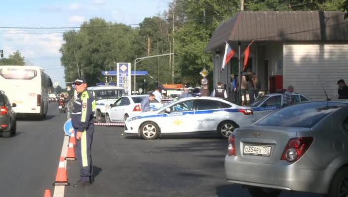 Чеченцы, напавшие на подмосковный пост ДПС, хотели захватить оружие полицейских