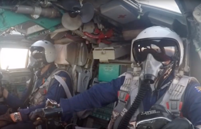 Министерство Обороны России опубликовало видео авиаудара ВКС по объектам ИГ в Сирии
