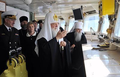 Патриарх-миллиардер Кирилл продолжает нападать на русскую Армию. Теперь - «Пётр Великий»