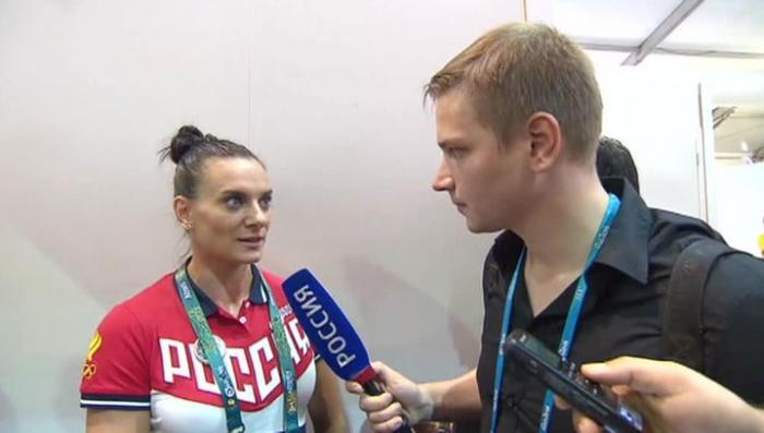 Елена Исинбаева обещает бороться за справедливость в МОК