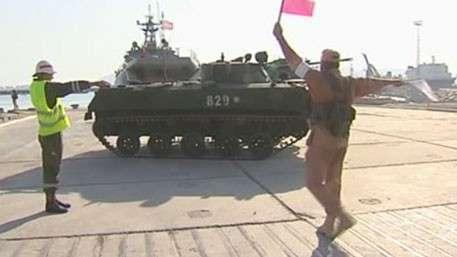 Научения тыловиков вКрым направились корабли Черноморского флота
