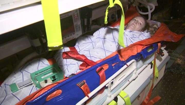 Россиянку, закрывшую собой детей при взрыве в Алеппо, доставили в Петербург