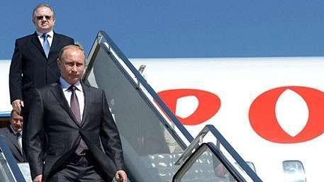 Владимир Путин прибыл сегодня в Крым с рабочим визитом
