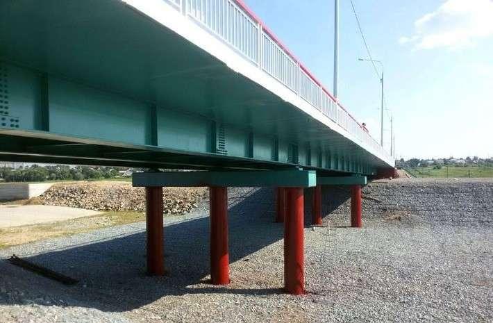 19. В Алтайском крае возведен новый мост  Сделано у нас, политика, факты