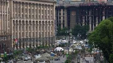 Ситуация на Майдане. Архивное фото
