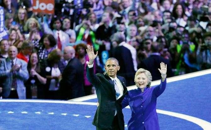 О связях Клинтон и Обамы с ИГИЛ