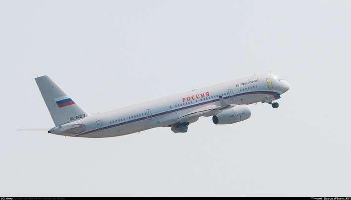 Очередной авиалайнер Ту-204 совершил свой первый полёт