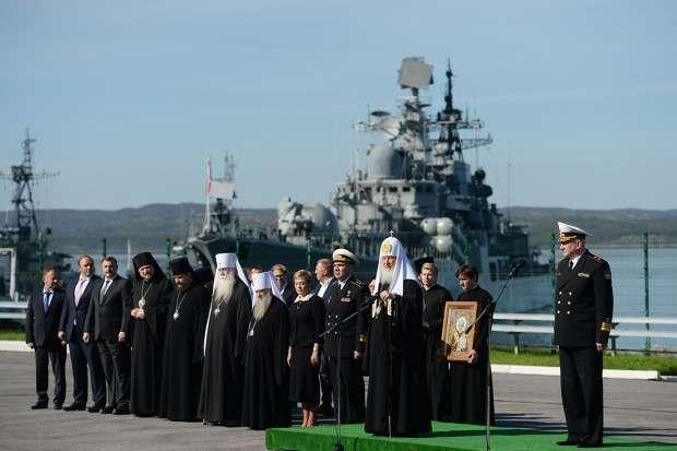 Патриарх Кирилл: победа Северного флота будет зависеть от силы духа и веры моряков