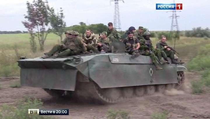 Жители Донецка опять вынужденно забыли про мирные ночи