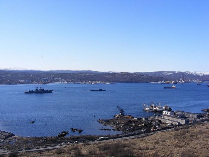 В Мурманской области стартовали работы по очистке Кольского залива от затопленных объектов