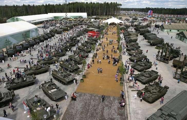 Минобороны опубликовало список военного имущества на продажу во время форума «Армия-2016»