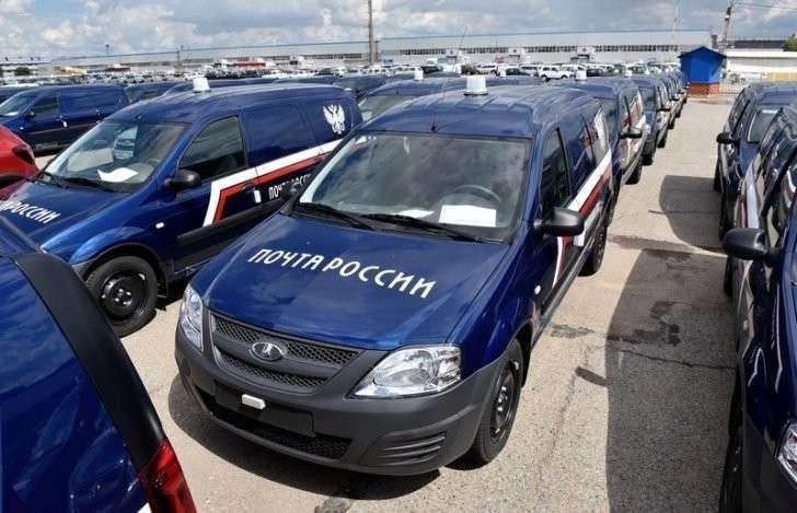 4. «АвтоВАЗ» поставил «Почте России» 400 автомобилей LADA Largus Сделано у нас, политика, факты