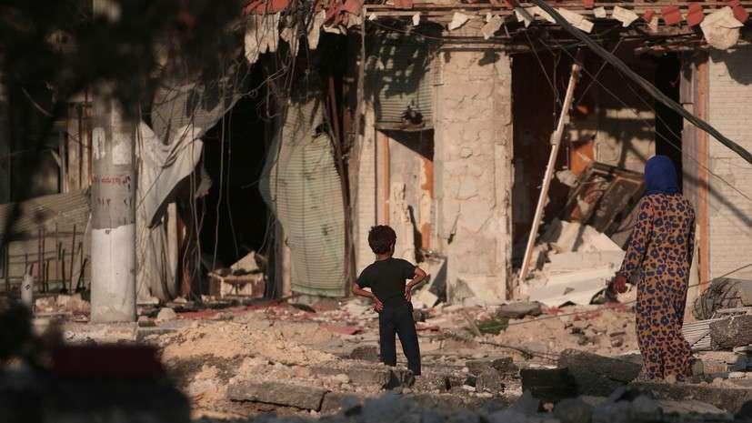 Как западные СМИ используют фото пострадавших в Сирии детей в своих интересах