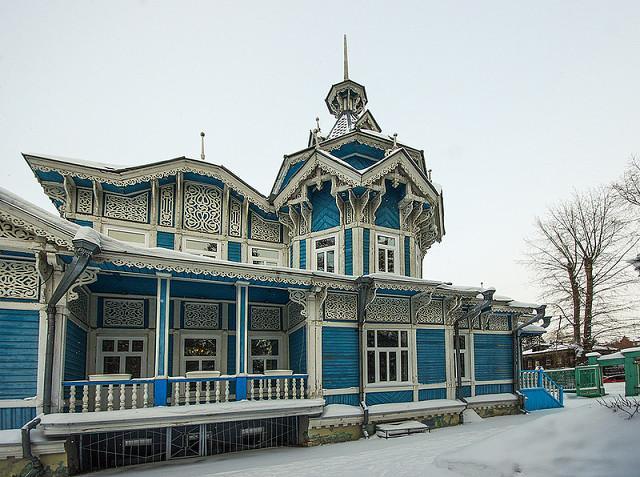 Удивительная прогулка по старинному русскому городу Томску