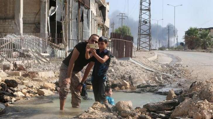 Жители сирийского Алеппо отказываются покидать родной город