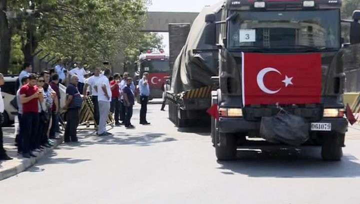 Эрдоган решил удалить военные базы из крупных городов