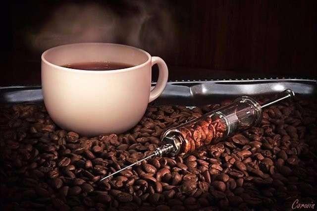 Ароматный кофе - это весьма опасный наркотик
