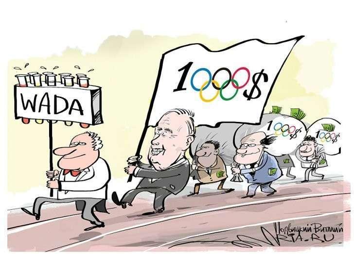 Англия с ВАДой жульничали на всех Олимпиадах!