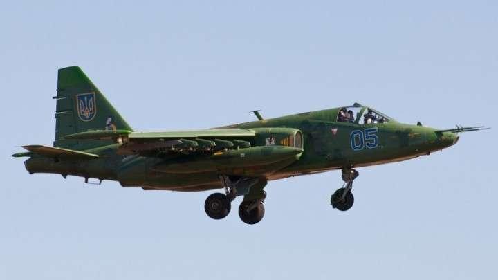 Конспирологическое про захваченный штурмовик Су-25: США собираются бомбить своё же посольство в Киеве?