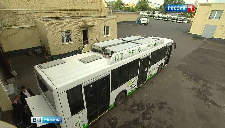 Москва теститует электробусы