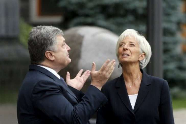 Банда самозванца Порошенко-Вальцмана разворовала деньги МВФ, выделенные на поддержку вкладчиков