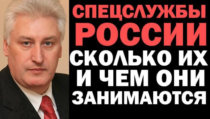Игорь Коротченко. Спецслужбы России: сколько их и чем они занимаются