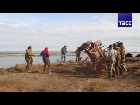Учёные и волонтёры очистили остров Белый в Арктике от тысячи тонн мусора