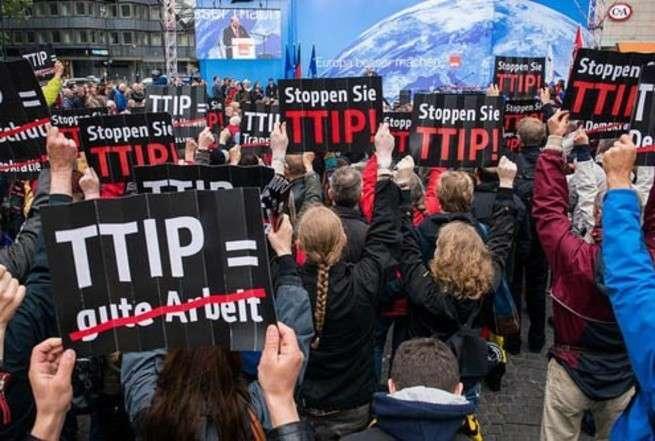 Европейцы отказываются кормить Америку: договор TTIP побоку!
