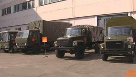 Минобороны показало лоты для аукциона военной техники в парке «Патриот»