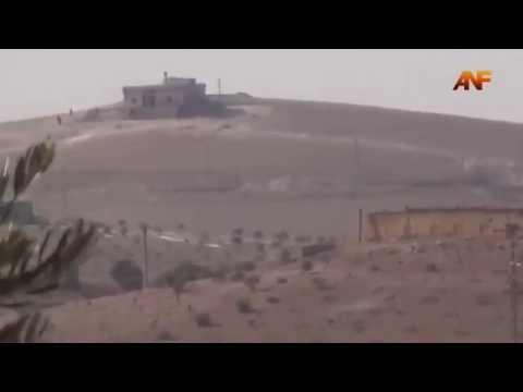 В Сети опубликовано видео уничтожения турецкого танка в Сирии