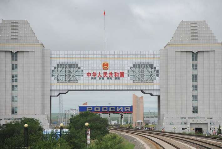 1. Открыт новый железнодорожный маршрут связывающий Россию и Китай Сделано у нас, политика, факты