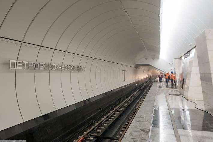 10. Второй зал станции метро «Петровско-Разумовская» готовится к открытию Сделано у нас, политика, факты