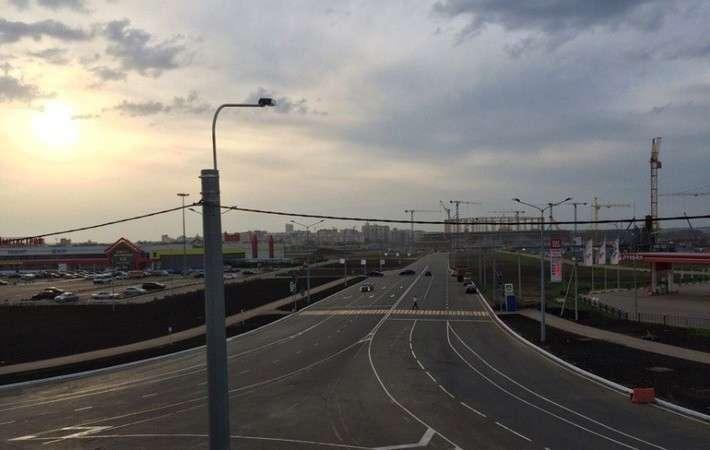4. В Саранске открыли новую развязку на аэропорт — мост-эстакаду Сделано у нас, политика, факты