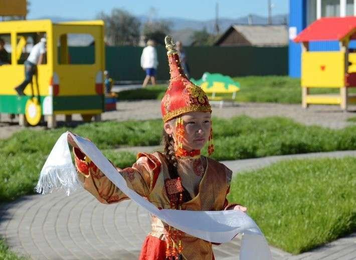 9. В Республике Тыва открыли детский сад Сделано у нас, политика, факты