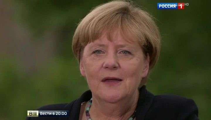 Половина немцев против переизбрания подлой Меркель, предавшей Германию