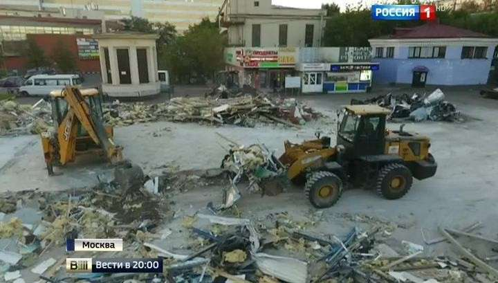 Москва продолжает очищаться от самостроя лихих девяностых