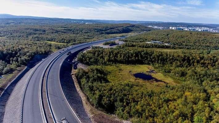Мурманск, северная красота и новая объездная дорога (фоторепортаж)