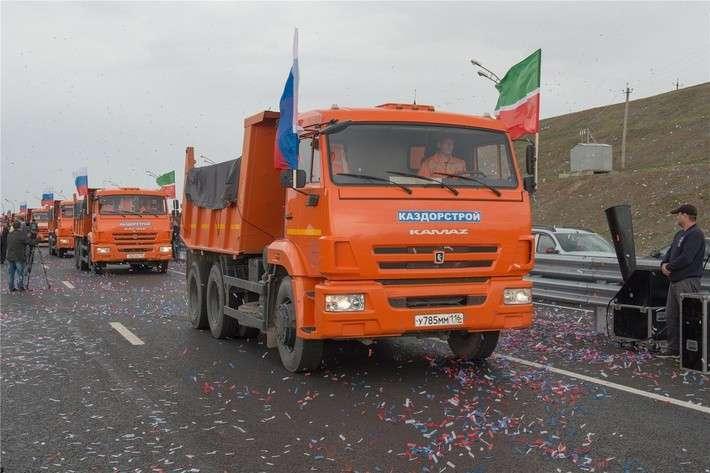 Мост через Каму: в Татарстане открыта 2-я очередь у села Сорочьи Горы