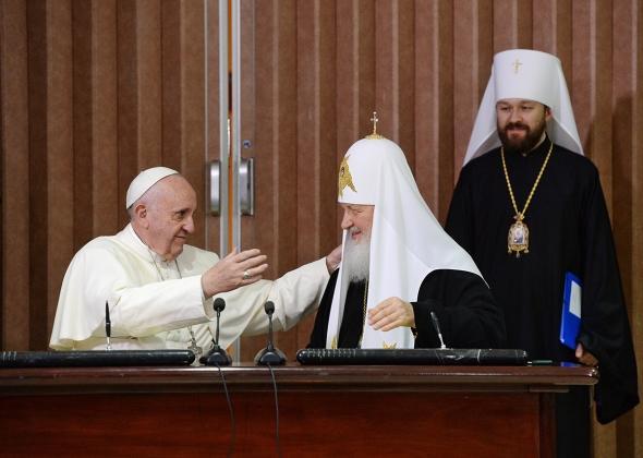 РПЦ сливается Ватикану на основе личных встреч